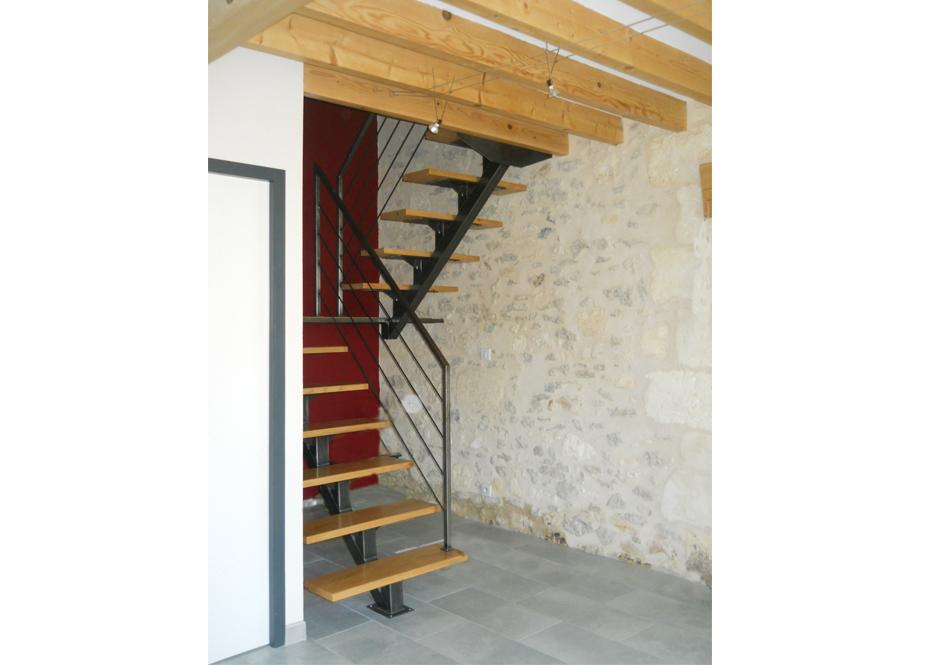 Rénovation D'une Maison Girondine à St Laurent D'Arce Par