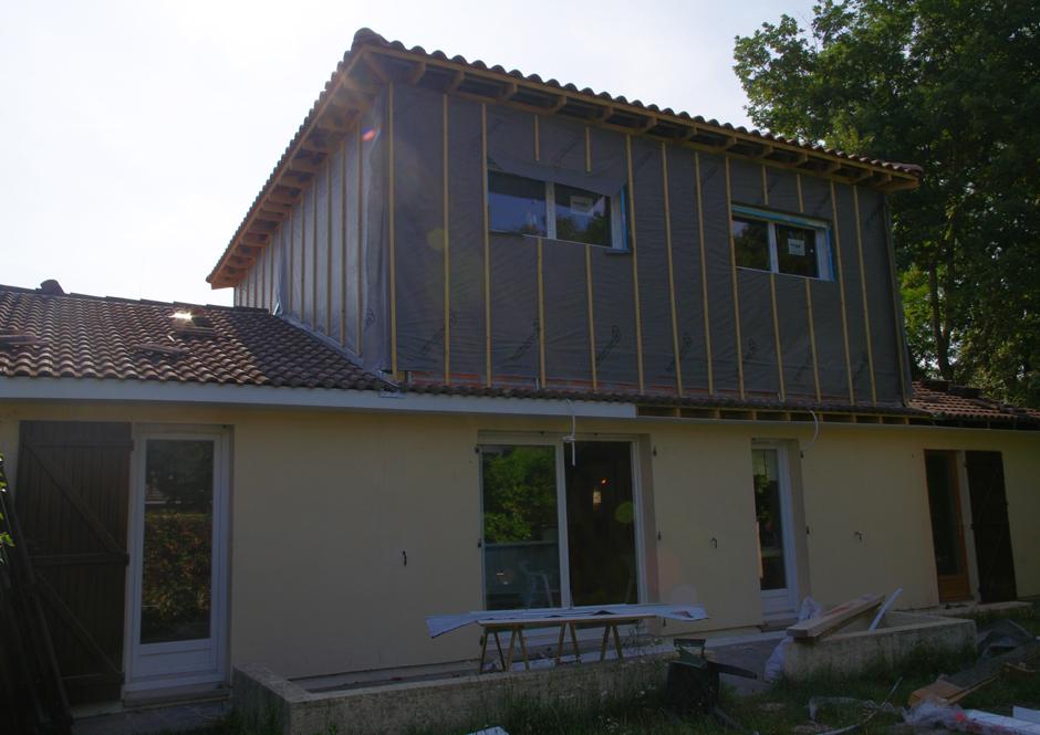 Surélévation Et Réaménagement Intérieur D'une Maison